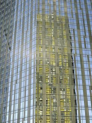 Veer Photograph - Skyscraper Reflections by Tony Craddock
