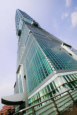 Skyscraper, Taipei 101 Building Print by Jeremy Woodhouse