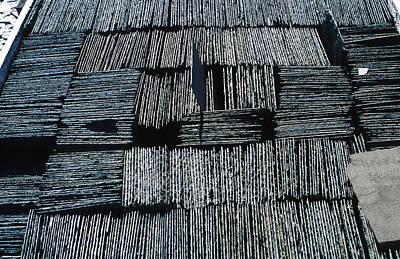 Slate Tiles Art Print by Dirk Wiersma