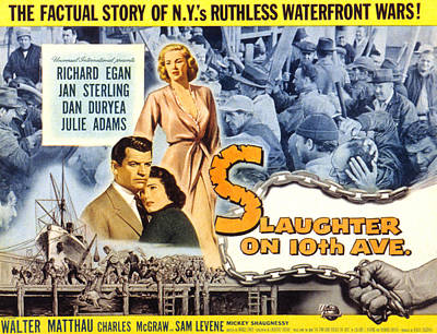 Jan Sterling Photograph - Slaughter On Tenth Avenue, Richard by Everett