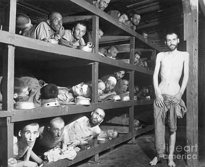 Slave Laborers In A German Print by Stocktrek Images