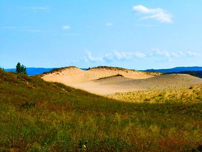 Photograph - Sleeping Bear Dunes by Beth Akerman