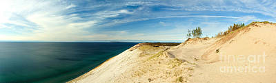 Photograph - Sleeping Bear Dunes by Larry Carr