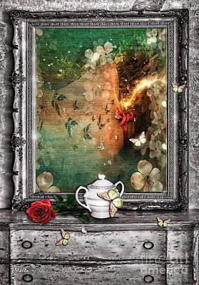 Unconscious Digital Art - Sleeping Beauty by Mo T