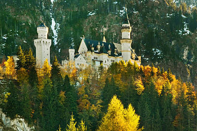 Photograph - Sleeping Beauty-neuschwanstein by John Galbo