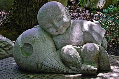 Sleeping Buddha Photograph - Sleeping Buddha by Dorota Nowak