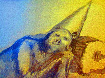 Painting - Sleeping Girl by Raul Morales