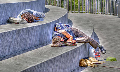 Photograph - Sleeping by Rod Jones