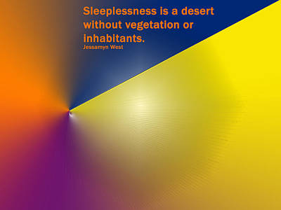 Digital Art - Sleeplessness by Ian  MacDonald