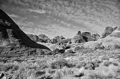 Photograph - Slick Rocks In The Middle by Wilma  Birdwell