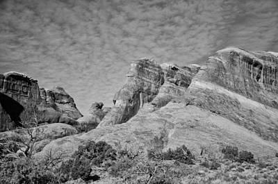 Photograph - Slick Rocks by Wilma  Birdwell