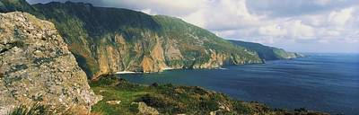 Slieve League Photograph - Slieve League, Co Donegal, Ireland by The Irish Image Collection
