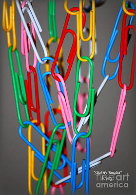 Photograph - Slightly Tangled by Patrick Witz
