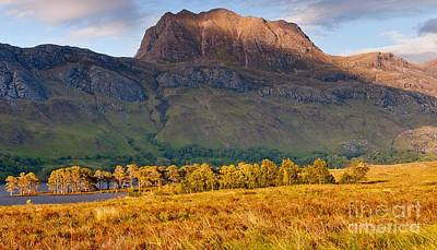 Torridon Wall Art - Photograph - Slioch Across The Waters Of Loch Maree by Maciej Markiewicz