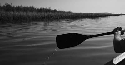 Slow Paddle Art Print
