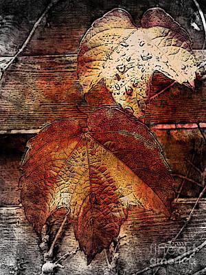 Slowly Dying Art Print by Jutta Maria Pusl