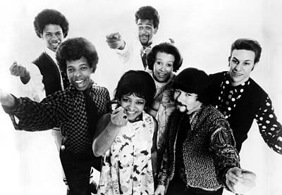 Sly And The Family Stone, C. 1968 Print by Everett