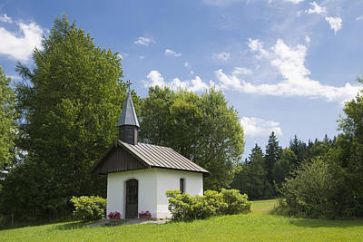 Photograph - Small Chapel In Bavaria by Matthias Hauser