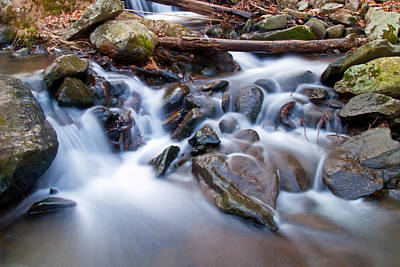 Photograph - Small Falls by David Freuthal