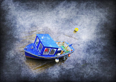 Small Fisherman Boat Art Print by Svetlana Sewell