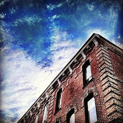 Cityscape Wall Art - Photograph - Small Town Buildings by Christopher Campbell