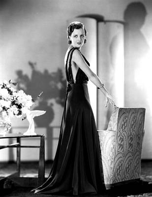 Evening Gown Photograph - Smart Woman, Mary Astor, 1931 by Everett