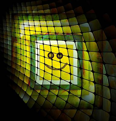 Digital Art - Smile Box by Carrie OBrien Sibley