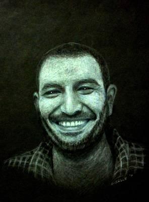 Gizelle Perez Drawing - Smile by Gizelle Perez