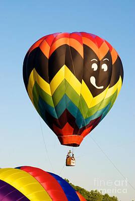 Hot Air Balloons Photograph - Smile by Mark Dodd