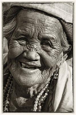 Smile Art Print by Skip Nall