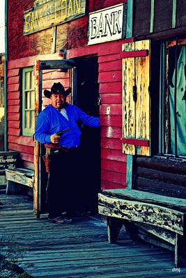 Photograph - Smile When You Say That Cowboy by Diane montana Jansson