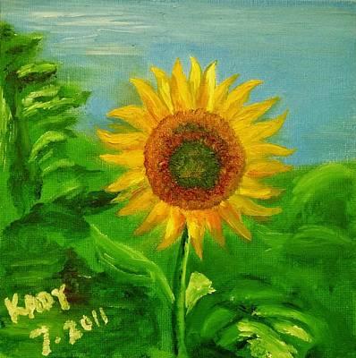Smiling Sunflower Original