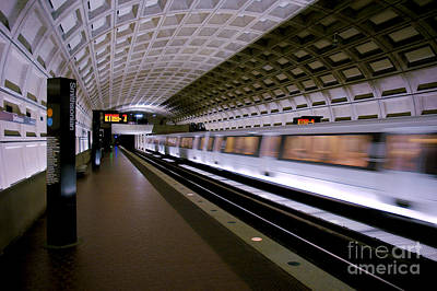 Photograph - Smithsonian Metro by Mark Dodd