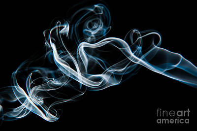 Photograph - Smoke-2 by Larry Carr
