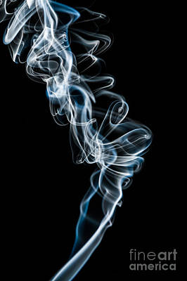 Photograph - Smoke-5 by Larry Carr