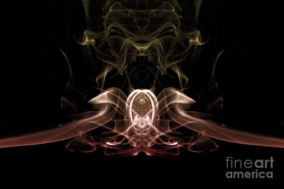 Photograph - Smoke Eight by Ken Frischkorn