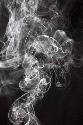Smoke Swirls  Print by Garry Gay
