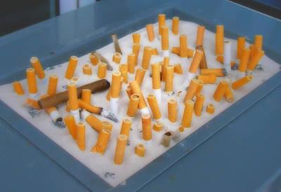 Smoker's Trough Art Print by Rod Jones