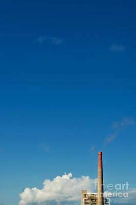Dogpatch Photograph - Smokestack And Sky by Eddy Joaquim