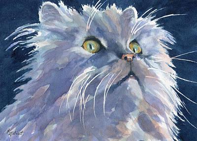 Smokey Painting - Smokey by Marsha Elliott