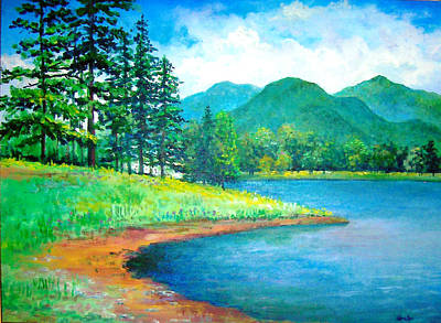 Painting - Smokies by Lou Ann Bagnall