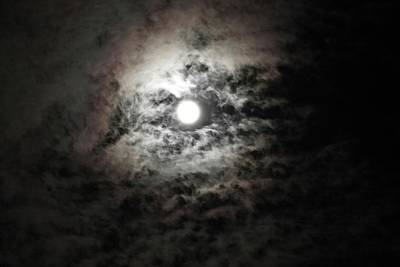 Photograph - Smoky Moon by Terry Wallace