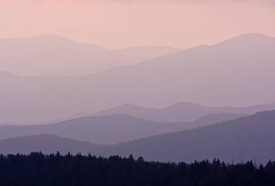 Antlers - Smoky Mountain Sunset by Angie Schutt