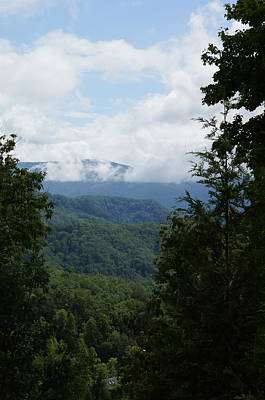 Nature Photograph - Smoky Mountain View by Megan Cohen