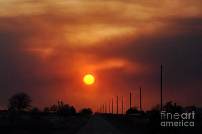 Photograph - Smoky Sun2 by Anjanette Douglas
