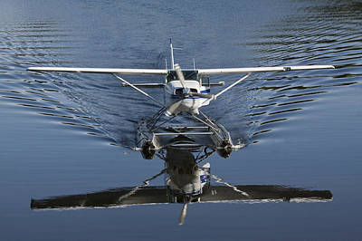 Glassy Wing Photograph - Smoooth Landing by David Kehrli