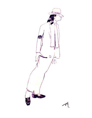 Smooth Criminal Art Print