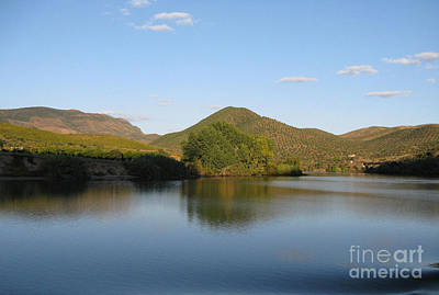 Smooth Sailing On The Douro Print by Arlene Carmel