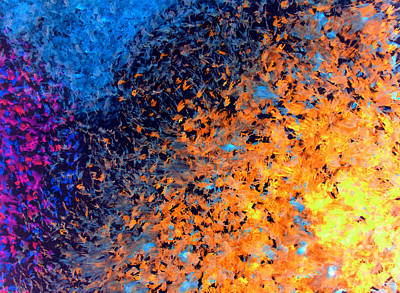 Painting - Smudge Abstract Painting by Sumit Mehndiratta