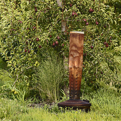 Smudge Pot Photograph - Smudge Pot In Pear Orchard by Mick Anderson